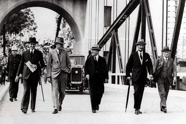 Walter Taylor Bridge opening 1936