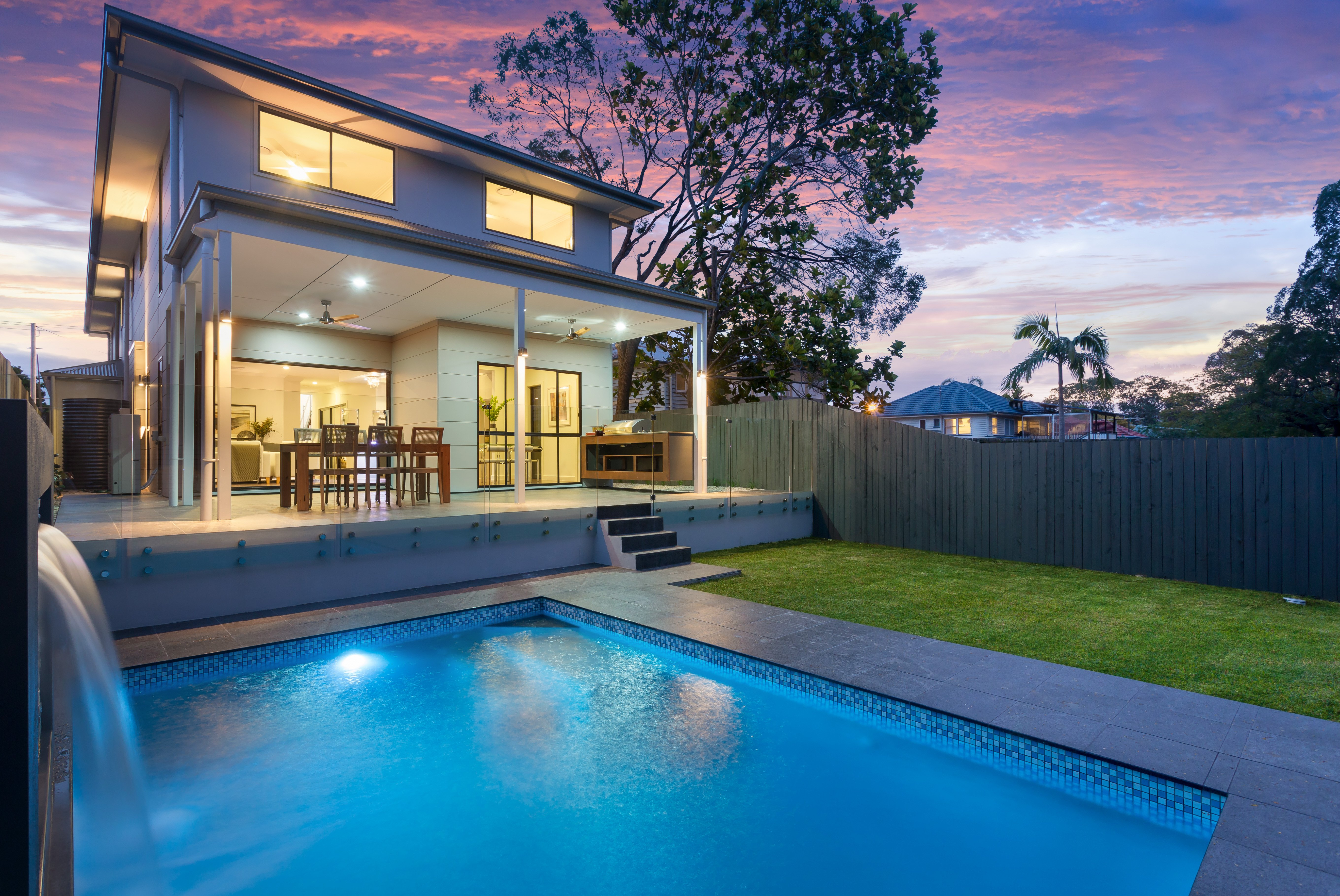 198 Oxley Road, Graceville pool