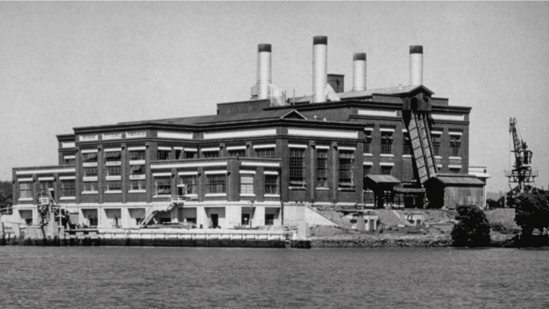 Historical photo of the Brisbane Powerhouse
