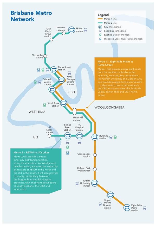 Brisbane-Metro-network-map