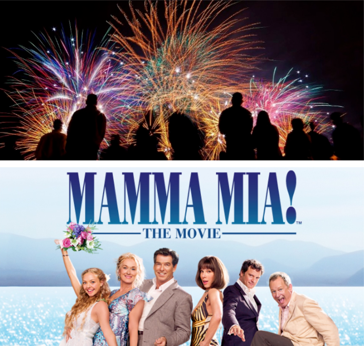 Fireworks and movies at Manly Harbour Brisbane