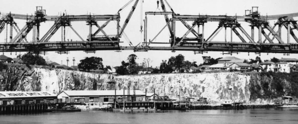 What the Howard Smith Wharves Location looked like in the past