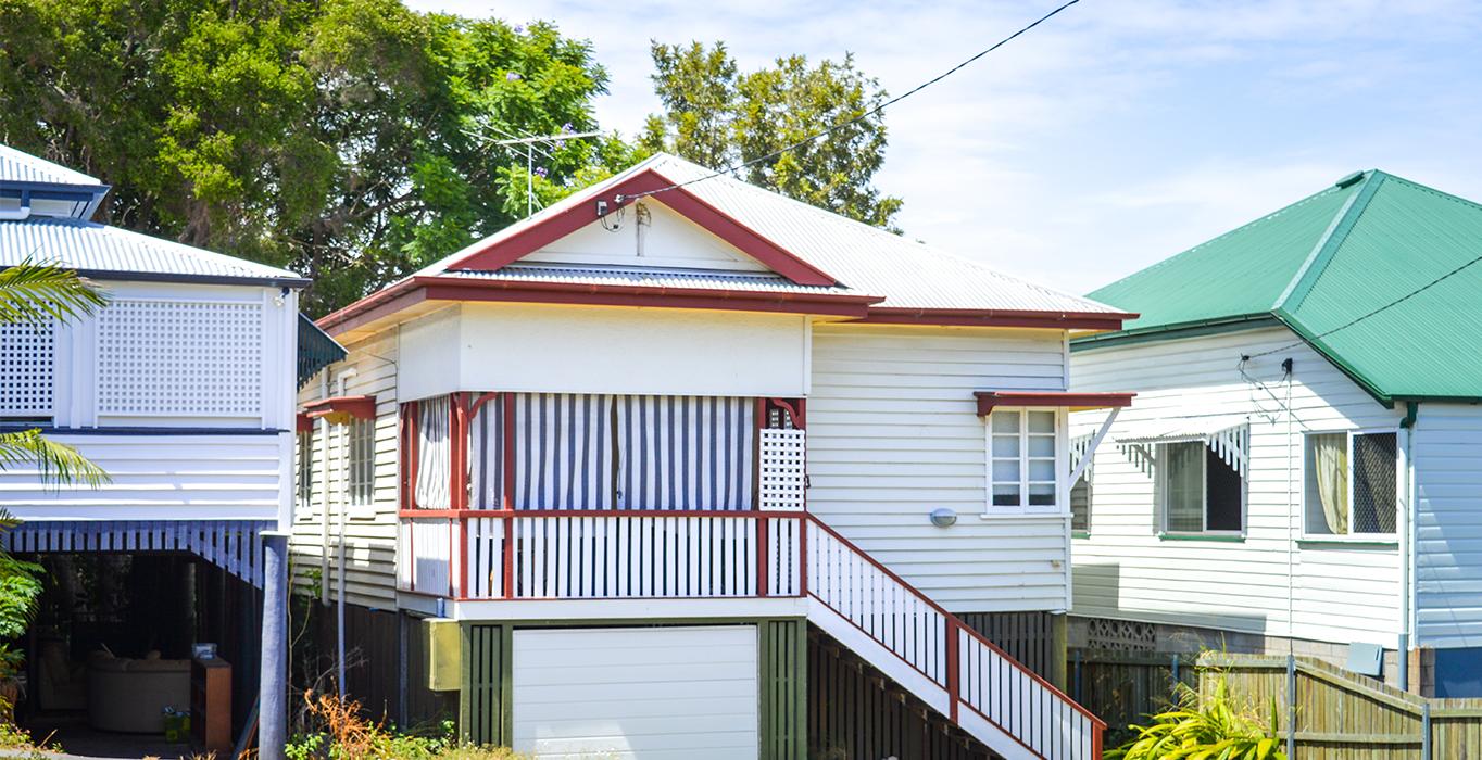 Queenslander style house in New Farm, Brisbane
