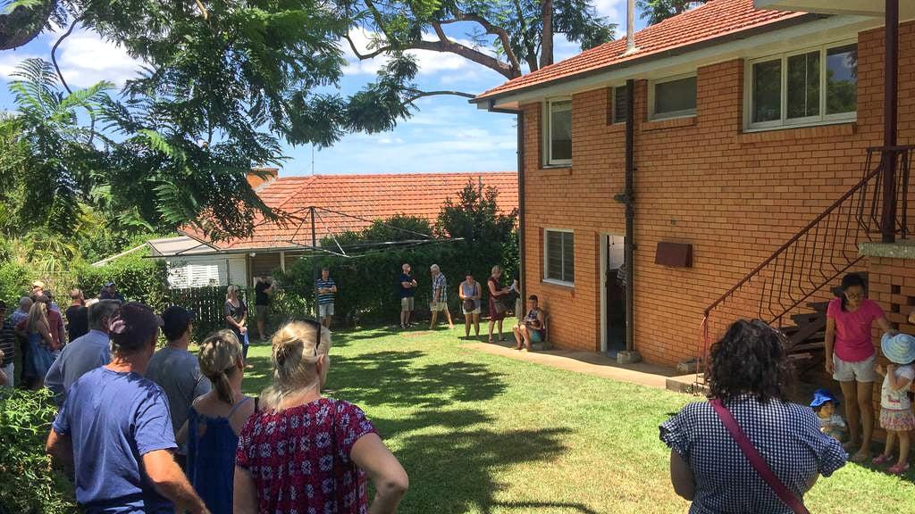 Auction in Brisbane suburb