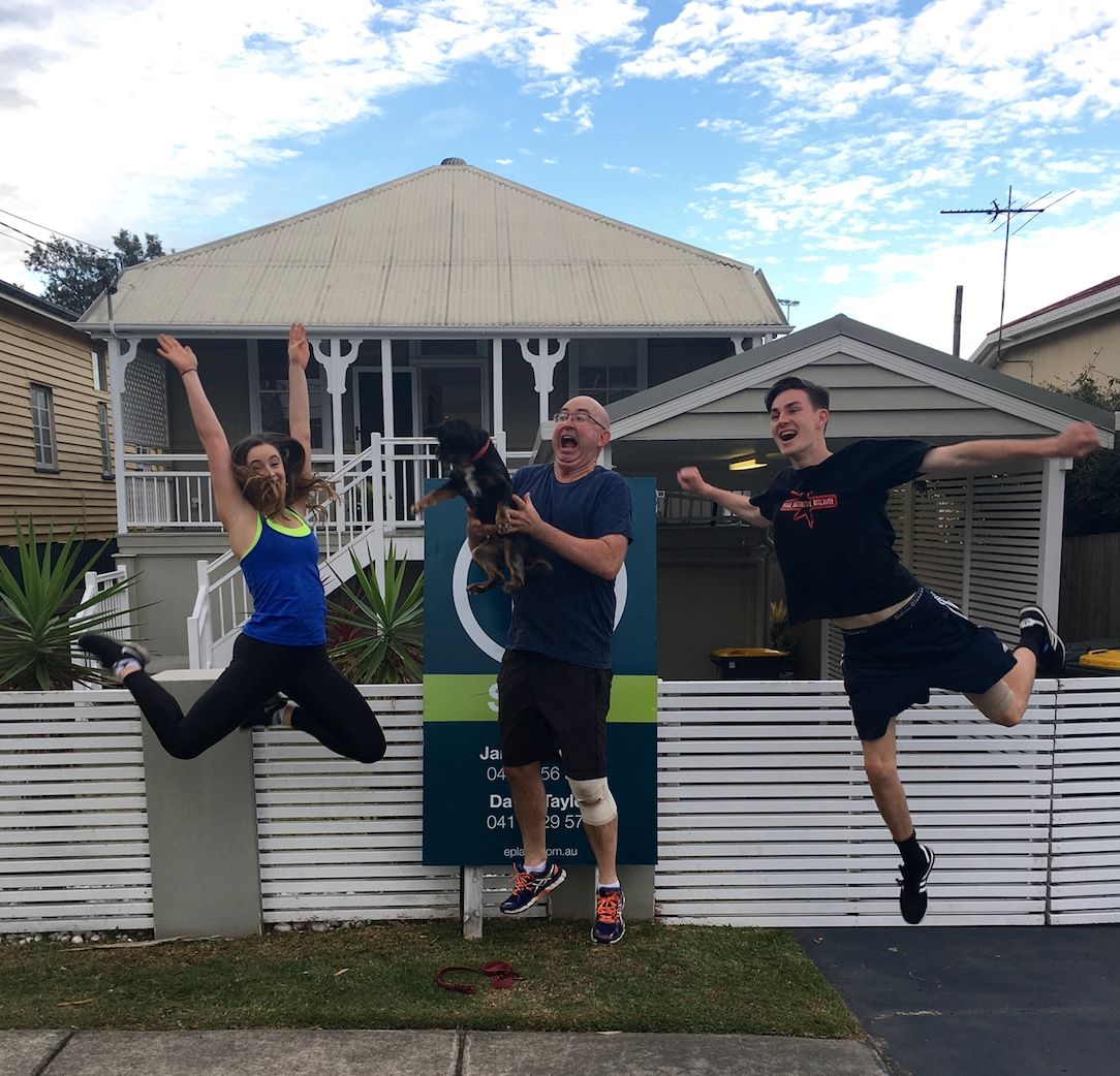 Shane Hicks, Place Real estate agent celebrates buying and selling a house