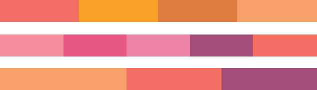 pantone-color-of-the-year-2019-palette-shimmering-sunset-harmonies