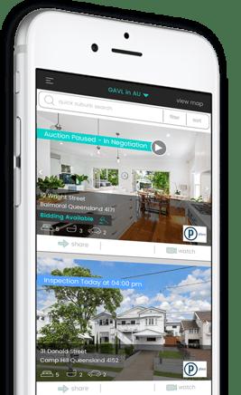 gavl app on iPhone