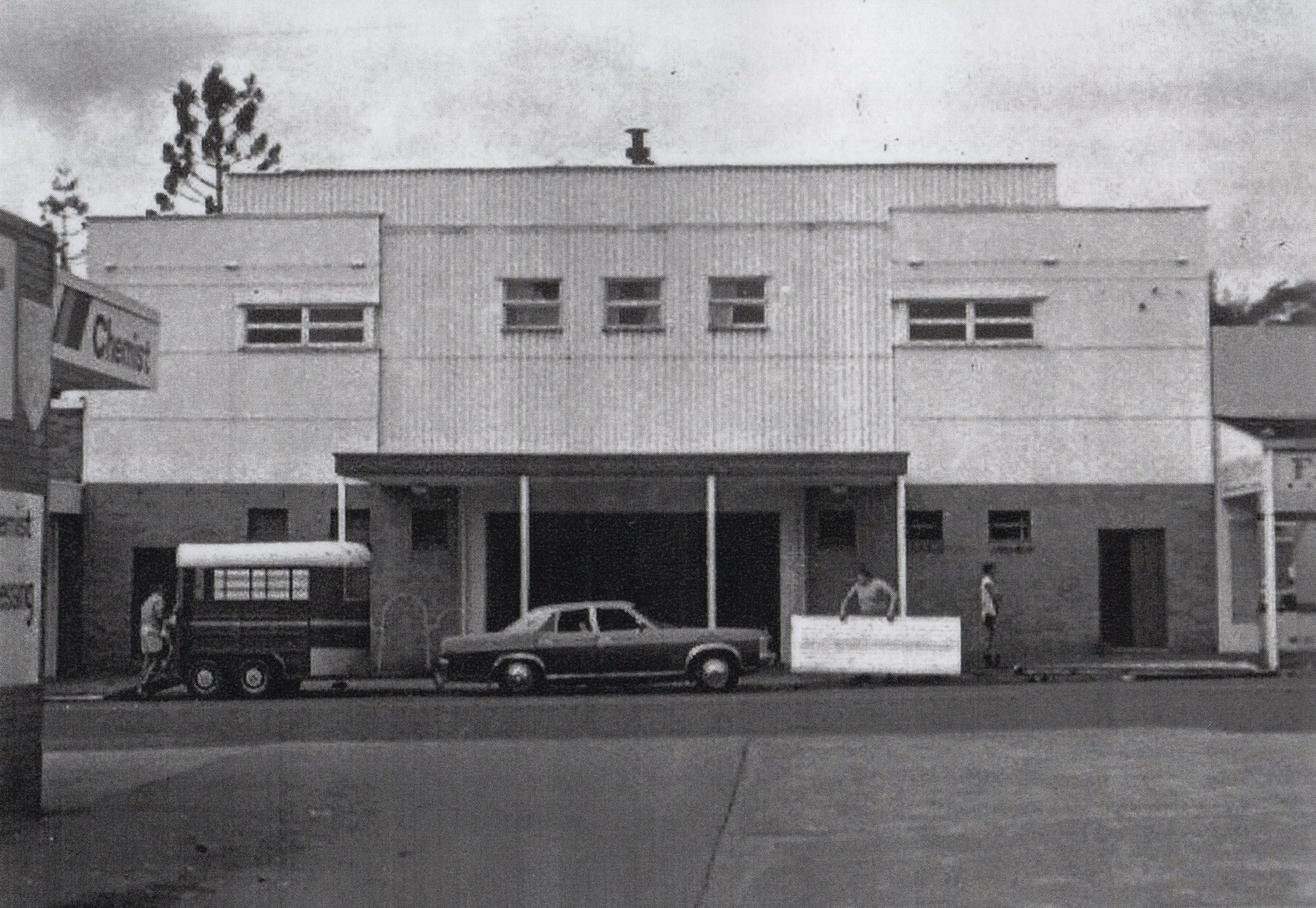 Sherwood Picture Theatre in 1985 just prior to demolition | Image: Oxley-Chelmer History Group