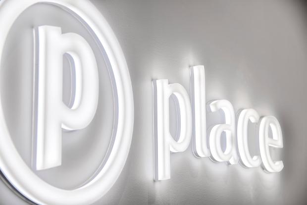 place logo